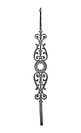 BSC1068 Ornamental Railing Panel