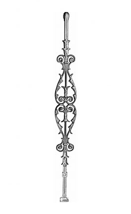 BSC1069 Ornamental Railing Panel