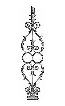 BSC1070 Ornamental Railing Panel