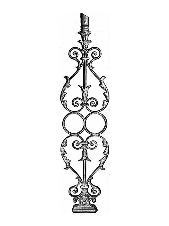 BSC1070 Ornamental Railing Panel