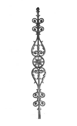 BSC1074 Ornamental Railing Panel