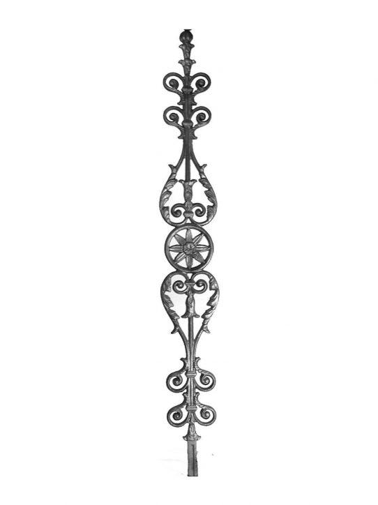 BSC1074 Ornamental Railing Panel