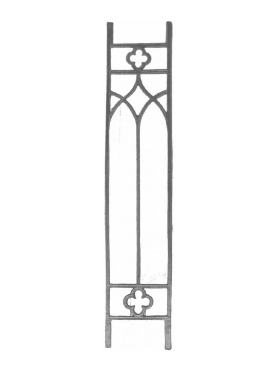 BSC1080 Ornamental Railing Panel