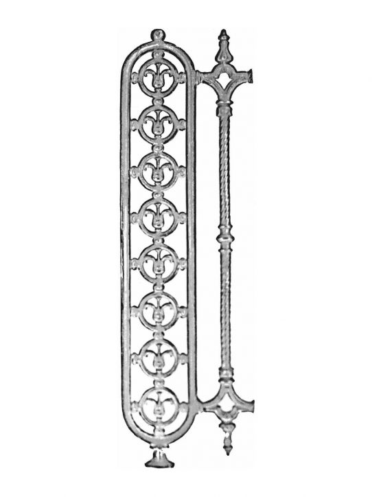 BSC1083 Ornamental Railing Panel