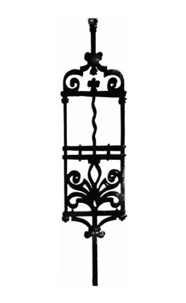 BSC1085 Ornamental Railing Panel
