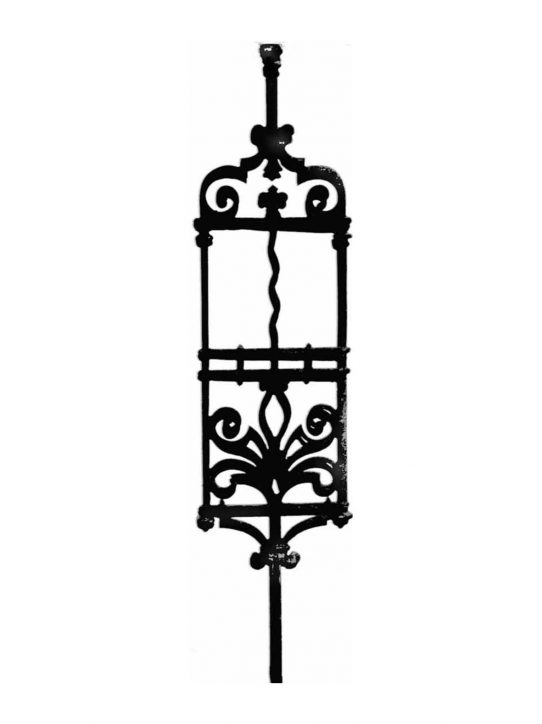 BSC1085 Ornamental Railing Panel