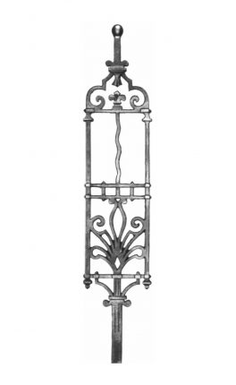 BSC1086 Ornamental Railing Panel