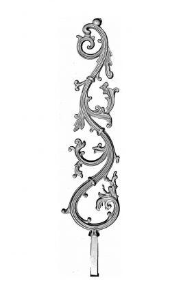 BSC1091 Ornamental Railing Panel