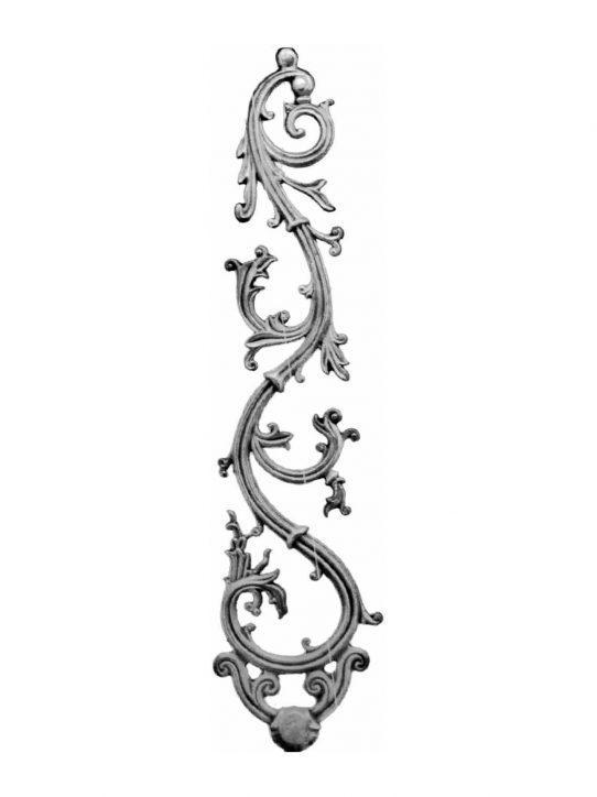 BSC1093 Ornamental Railing Panel