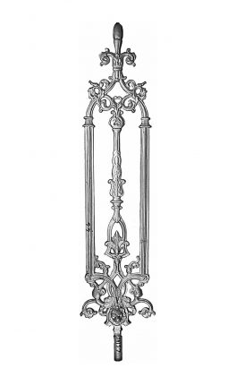 BSC1098 Ornamental Railing Panel