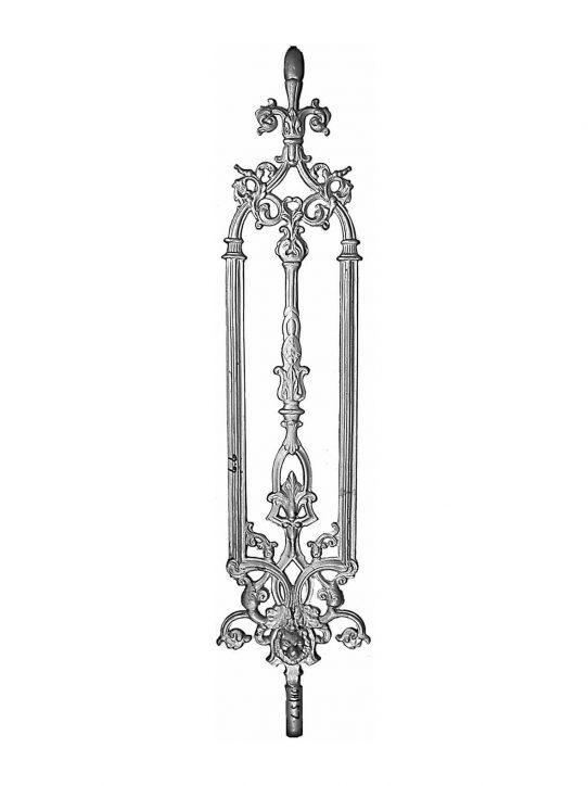 BSC1098 Ornamental Railing Panel
