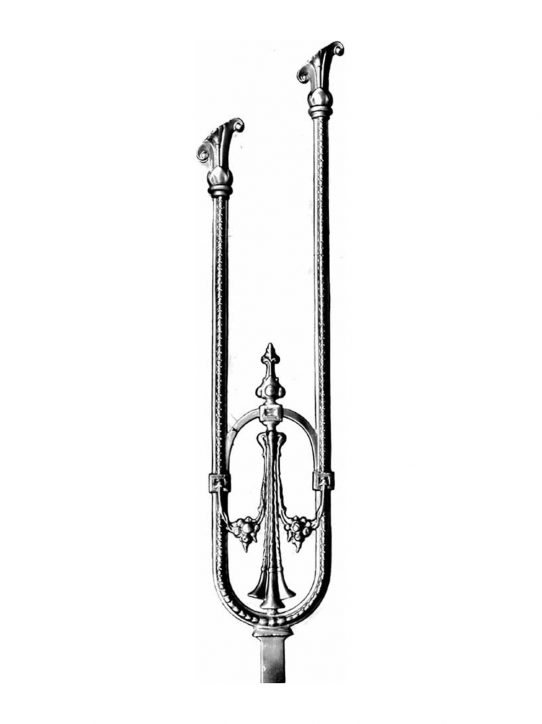 BSC1102 Ornamental Railing Panel