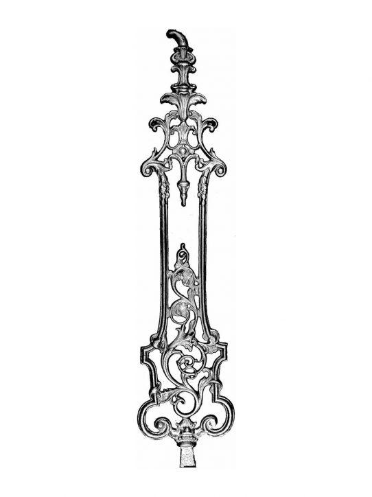BSC1109 Ornamental Railing Panel