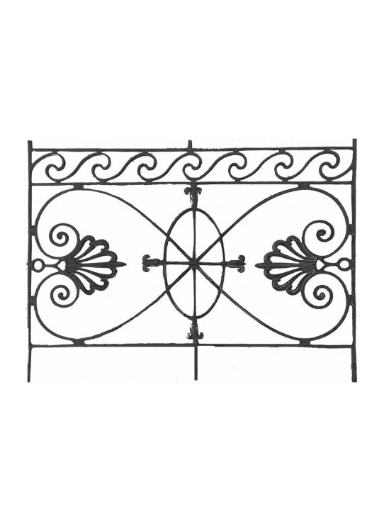 BSC11105 Cast Iron Panel
