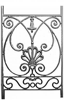 BSC11106 Cast Iron Panel