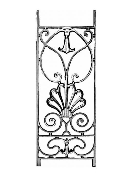 BSC11107 Cast Iron Panel