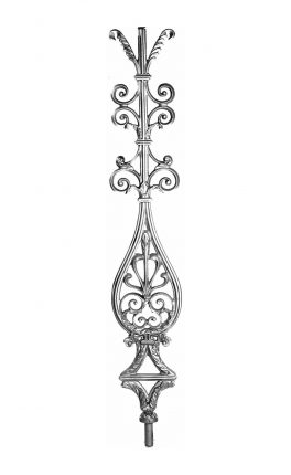BSC1111 Ornamental Railing Panel