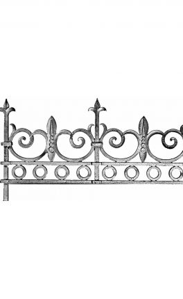 BSC11112 Cast Iron Panel