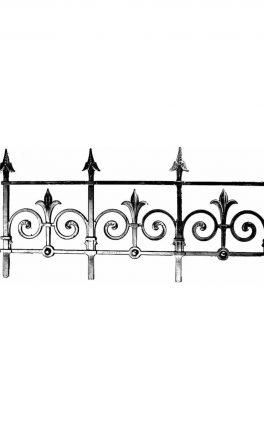 BSC11114 Cast Iron Panel