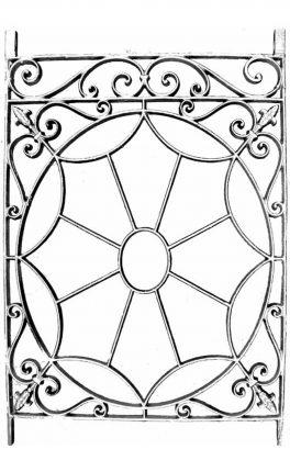 BSC11119 Cast Iron Panel