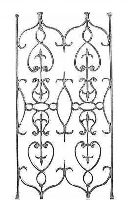 BSC11120 Cast Iron Panel