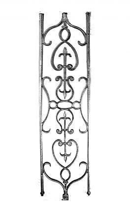 BSC11121 Cast Iron Panel