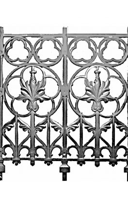 BSC11122 Cast Iron Panel