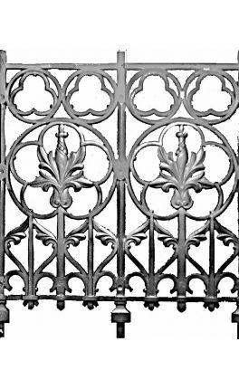 BSC11122 Cast Iron Panel