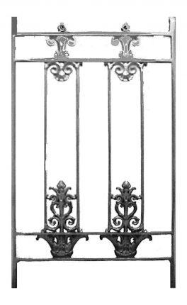 BSC11125 Cast Iron Panel