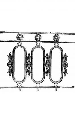 BSC11127 Cast Iron Panel