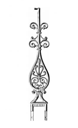 BSC1113 Ornamental Railing Panel