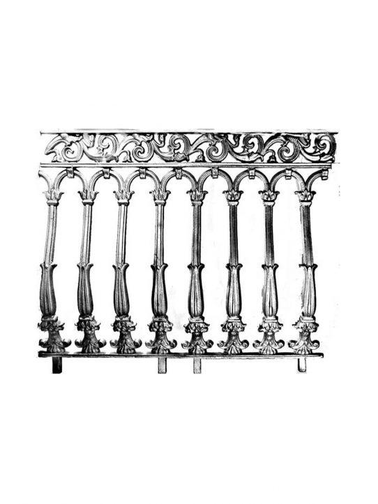 BSC11132 -Cast Iron Panel