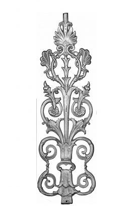 BSC1115 Ornamental Railing Panel