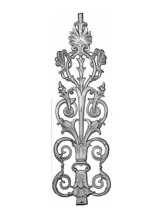 BSC1115 Ornamental Railing Panel
