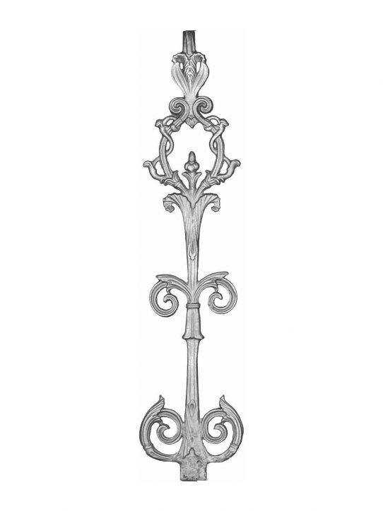 BSC1116 Ornamental Railing Panel