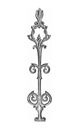 BSC1117 Ornamental Railing Panel