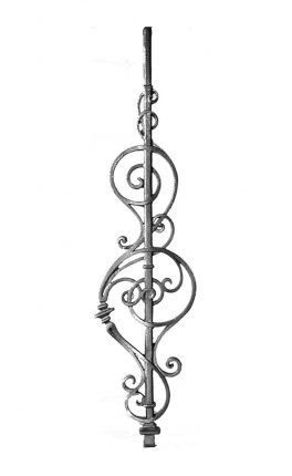 BSC1124 Ornamental Railing Panel