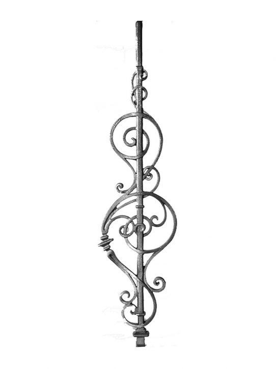 BSC1124 Ornamental Railing Panel