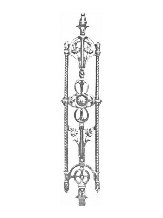 BSC1125 Ornamental Railing Panel