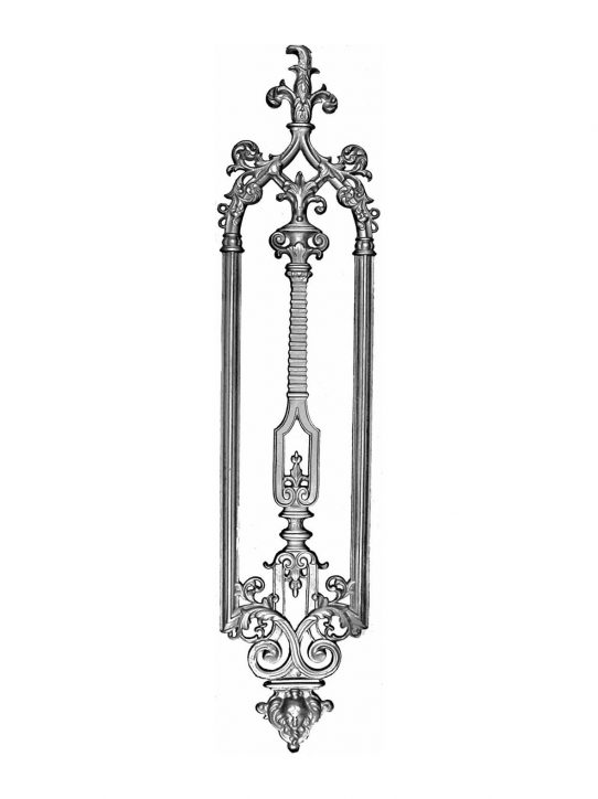 BSC1127 Ornamental Railing Panel