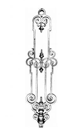 BSC1142 Ornamental Railing Panel