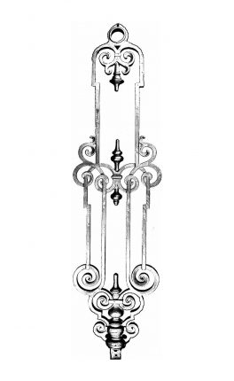 BSC1143 Ornamental Railing Panel