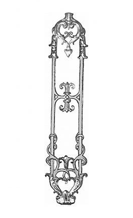 BSC1146 Ornamental Railing Panel