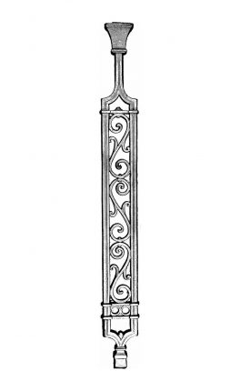 BSC1148 Ornamental Railing Panel