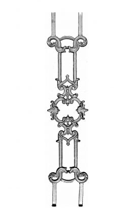 BSC1149 Ornamental Railing Panel