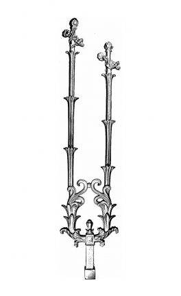 BSC1153 Ornamental Railing Panel