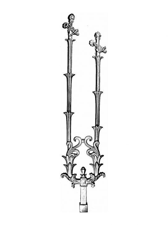 BSC1153 Ornamental Railing Panel