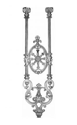 BSC1155 Ornamental Railing Panel