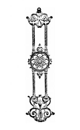 BSC1157 Ornamental Railing Panel