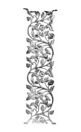 BSC1160 Ornamental Railing Panel